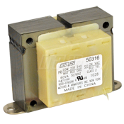60VA Bell Type Transformer, 208/240-24V, Heavy Duty, Mars 50316