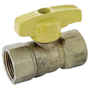 "Gas Ball Valve, Straight, 3/4"" FIP x 3/4"" FIP"